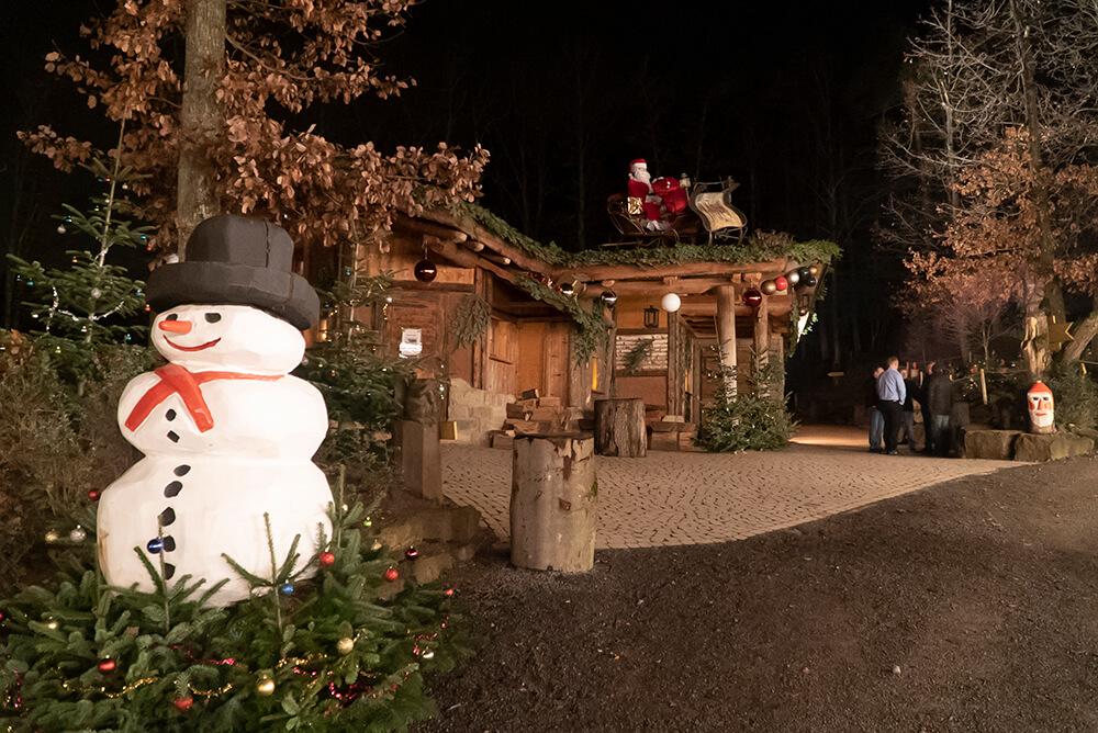 Weihnachtsfeier in Tripsdrill
