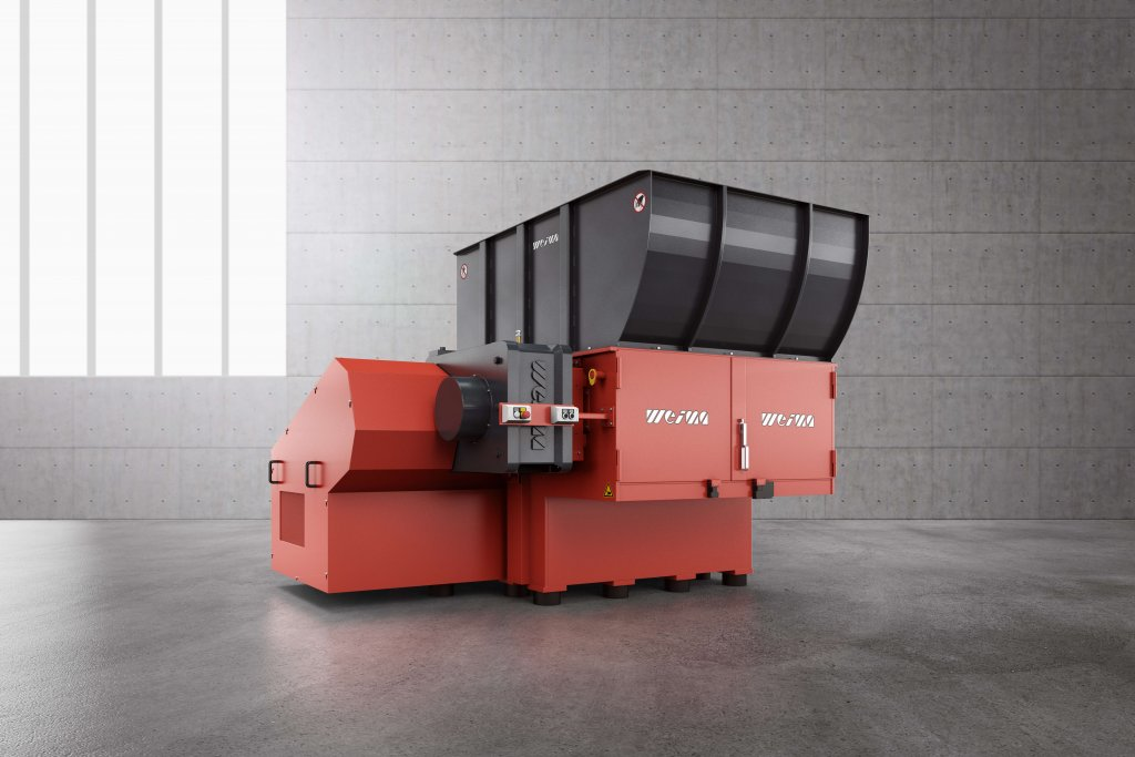 WEIMA WL 1500 single-shaft shredder
