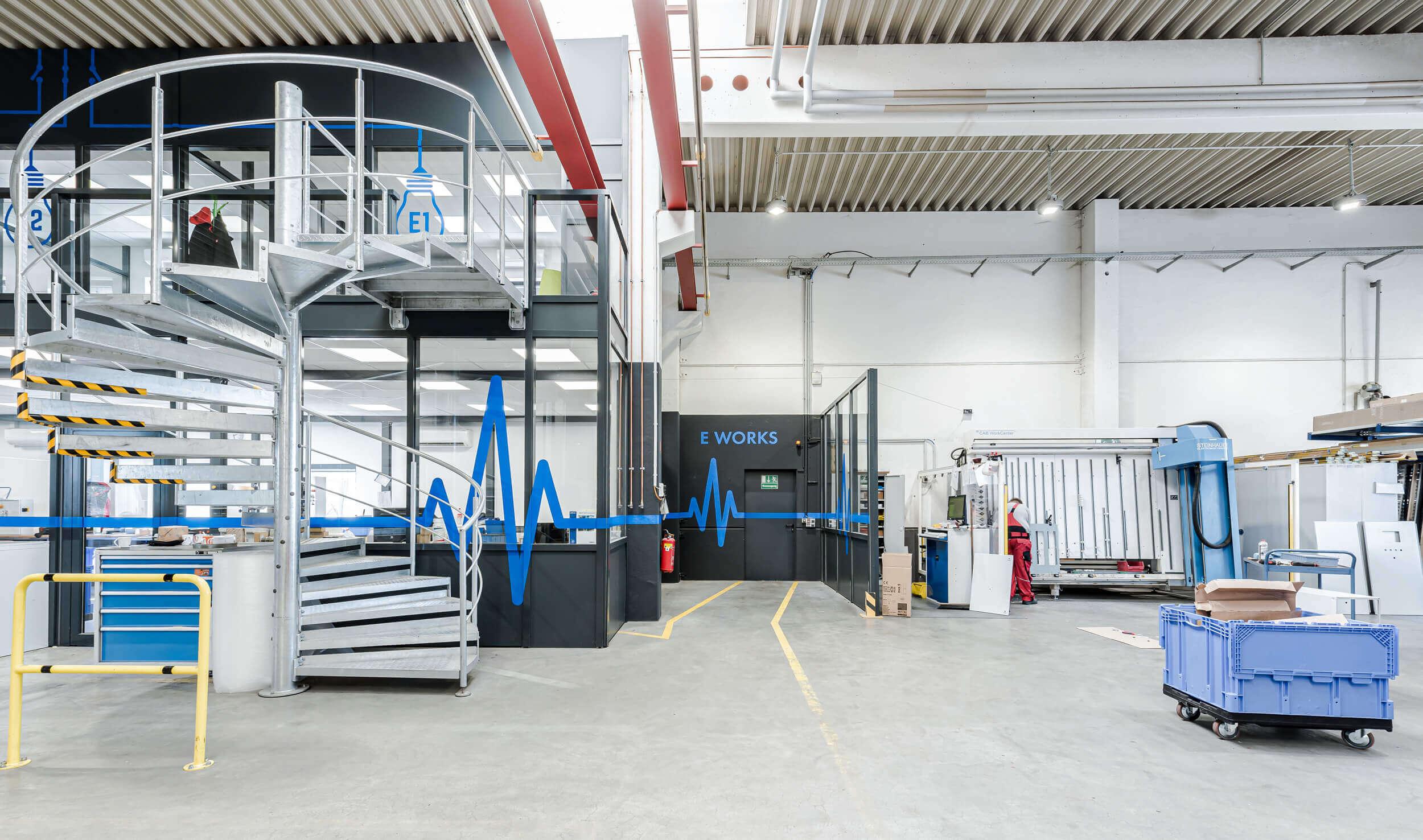 Modernisierung der Planungsbüros in der Schaltschrankproduktion