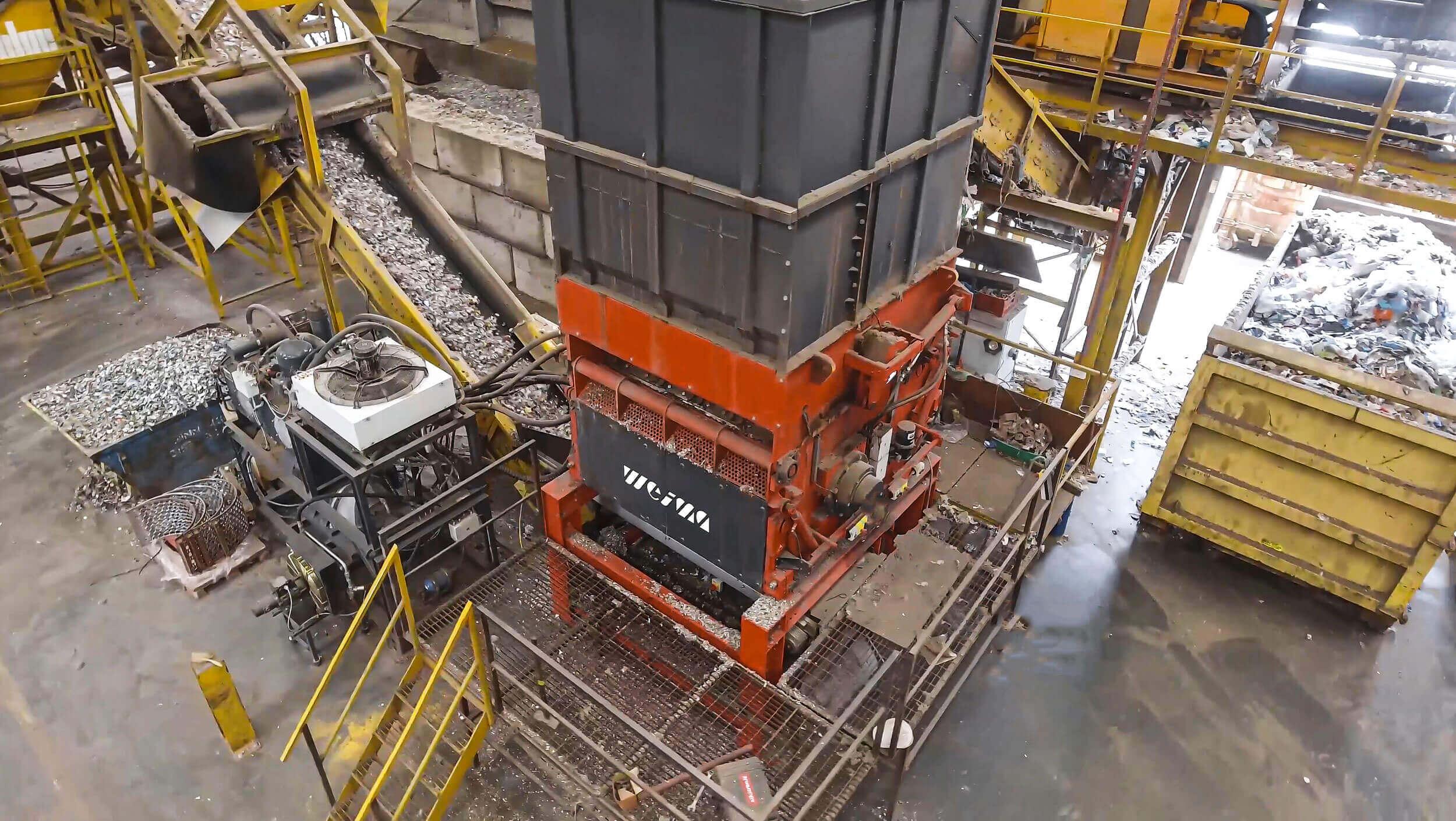 WEIMA Powerline 2000 Einwellen-Zerkleinerer Shredder für SRF-Produktion