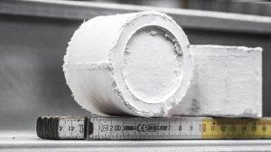 Verdichteter Papierstaub Brikett Recycling