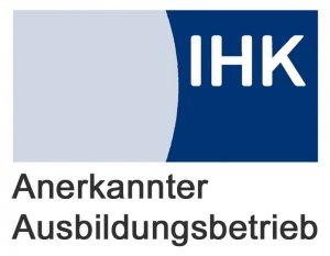 Logo IHK Ausbildungsbetrieb
