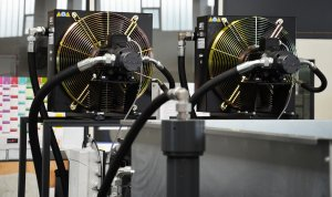 Doppelkühlung für Öl auf Hydrauliktank