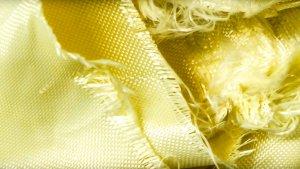 Aramif-Fasern vor der Zerkleinerung