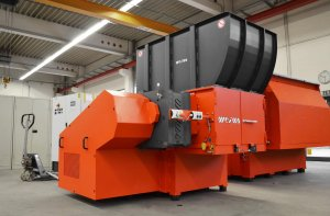 Shredder WLK 1000 bei WEIMA