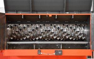 Shredder WLK 1500 geöffnet