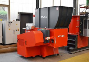 Shredder WLK 800 bei WEIMA