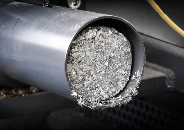 Briketts Austrag Metallbrikett Aluminium
