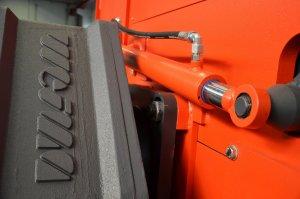 Shredder Getriebe Antrieb