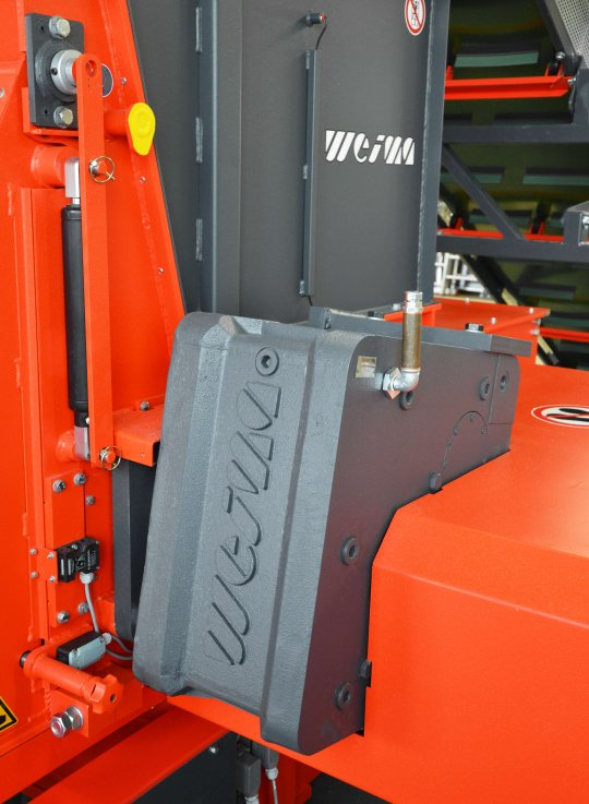WAP-Getriebe WEIMA Shredder