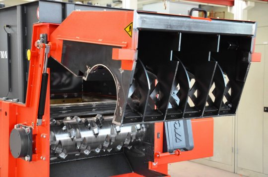 Offener Siebkorb WLK Shredder