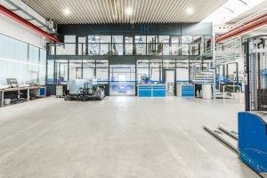 Neues Stockwerk mit Planungsbüros