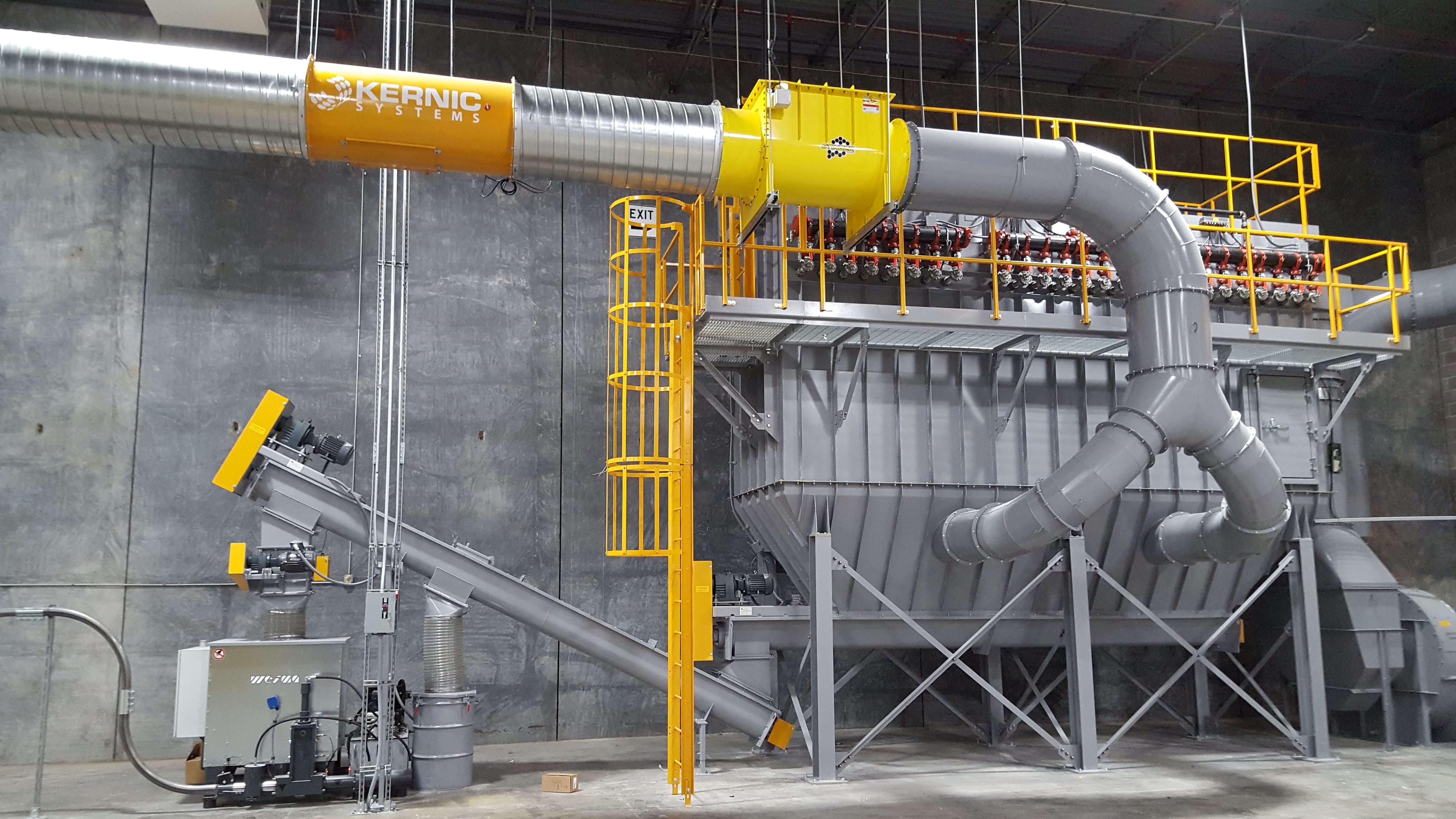 Kernic Dust System installation