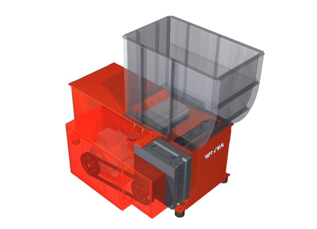 WL 4 single-shaft shredder