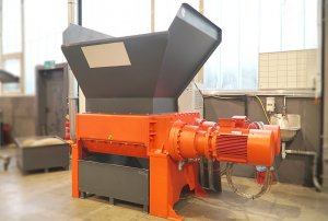 ZM 40 Four-shaft shredder