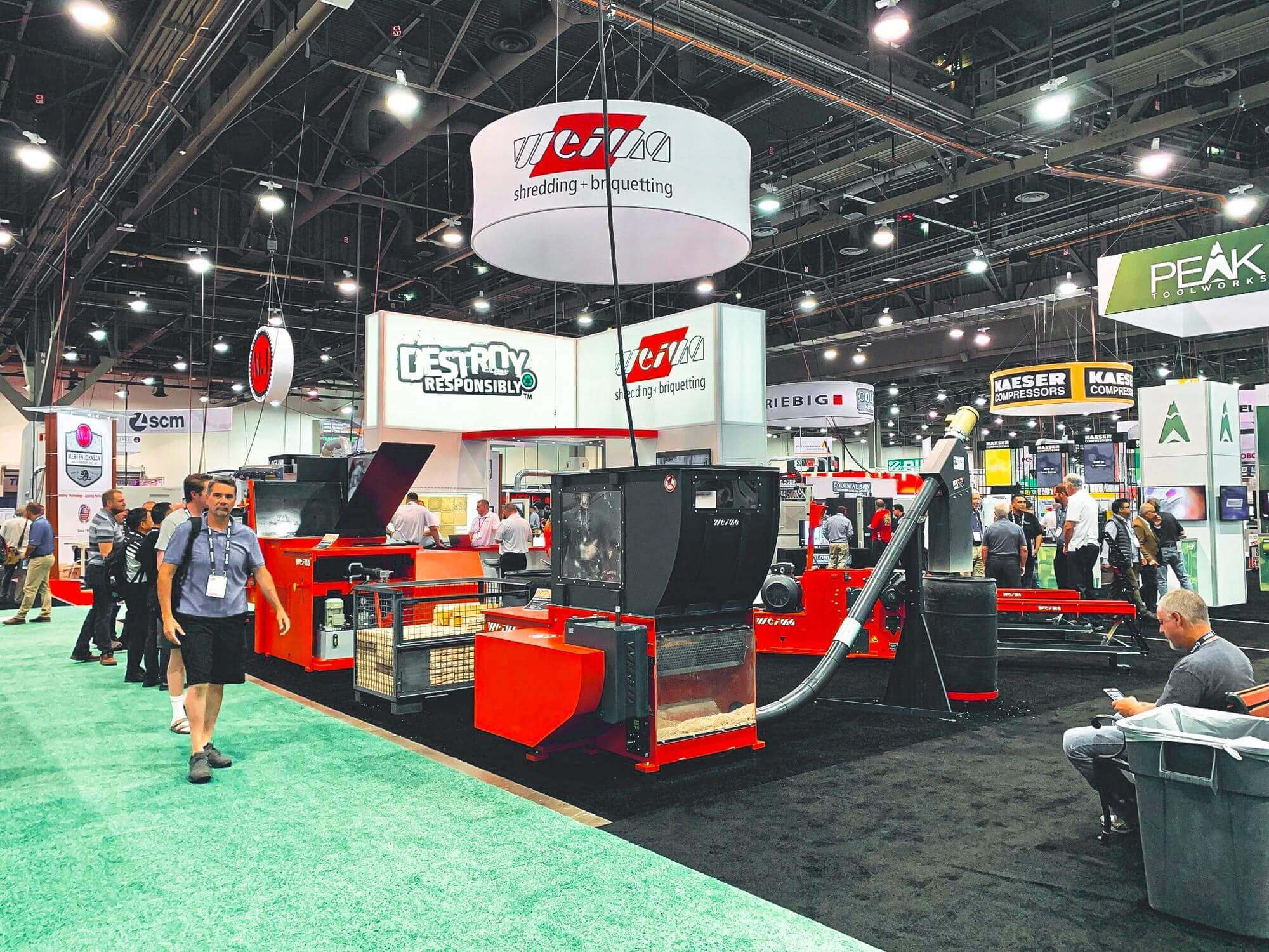 Small Shredders Big Impact Reflections From Awfs Fair