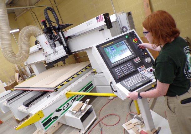 CNC-Holzbearbeitung