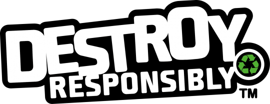 Logo of WEIMA's Destroy Responsibly sustainability campaign