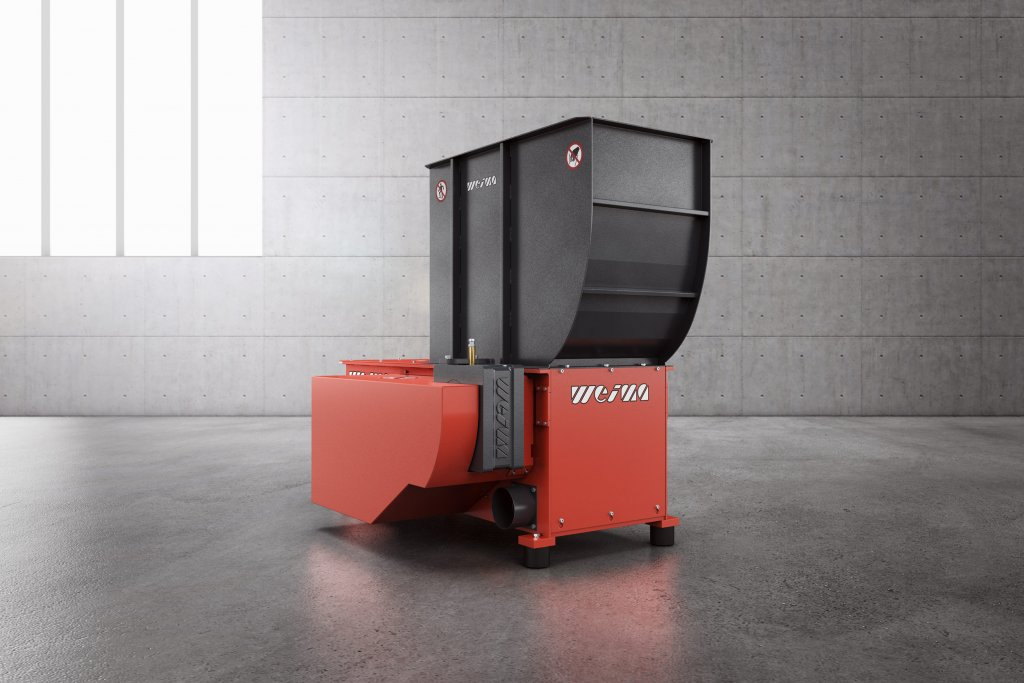 WEIMA WL 4 single-shaft shredder for Holz-Handwerk 2020