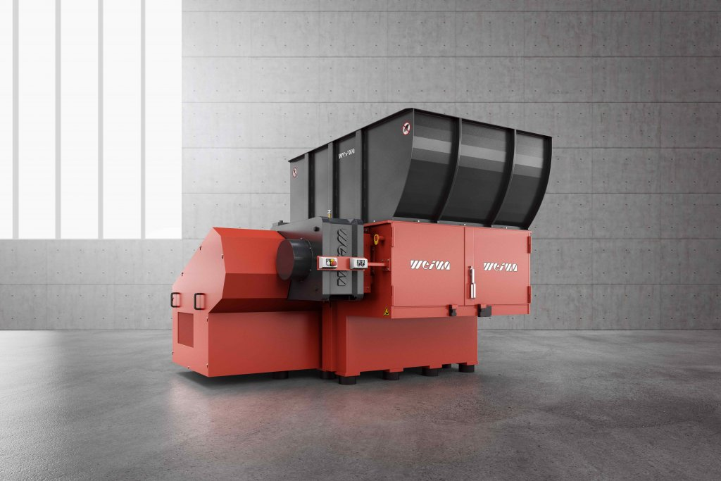 WEIMA WL 1500 single-shaft shredder for Holz-Handwerk 2020