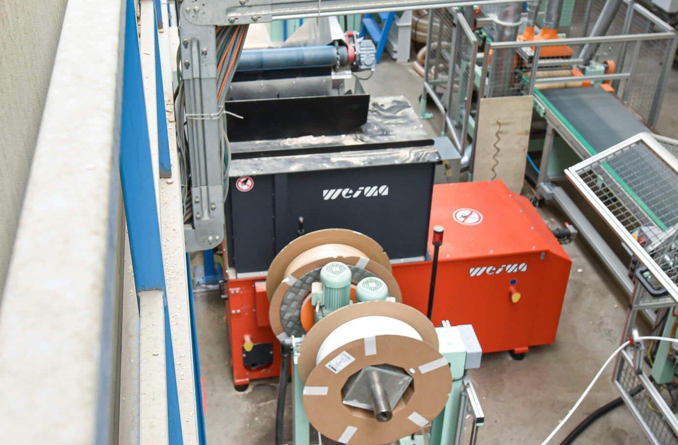 WEIMA Zerkleinerer WL 6 S in GARANT Produktionshalle