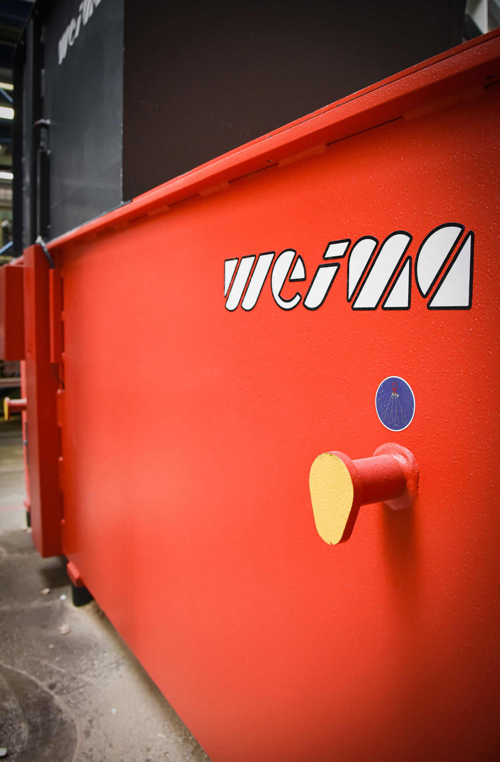 Sustainability at its best with a WEIMA shredder
