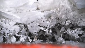 The F-rotor was specially developed for shredding films and fibers
