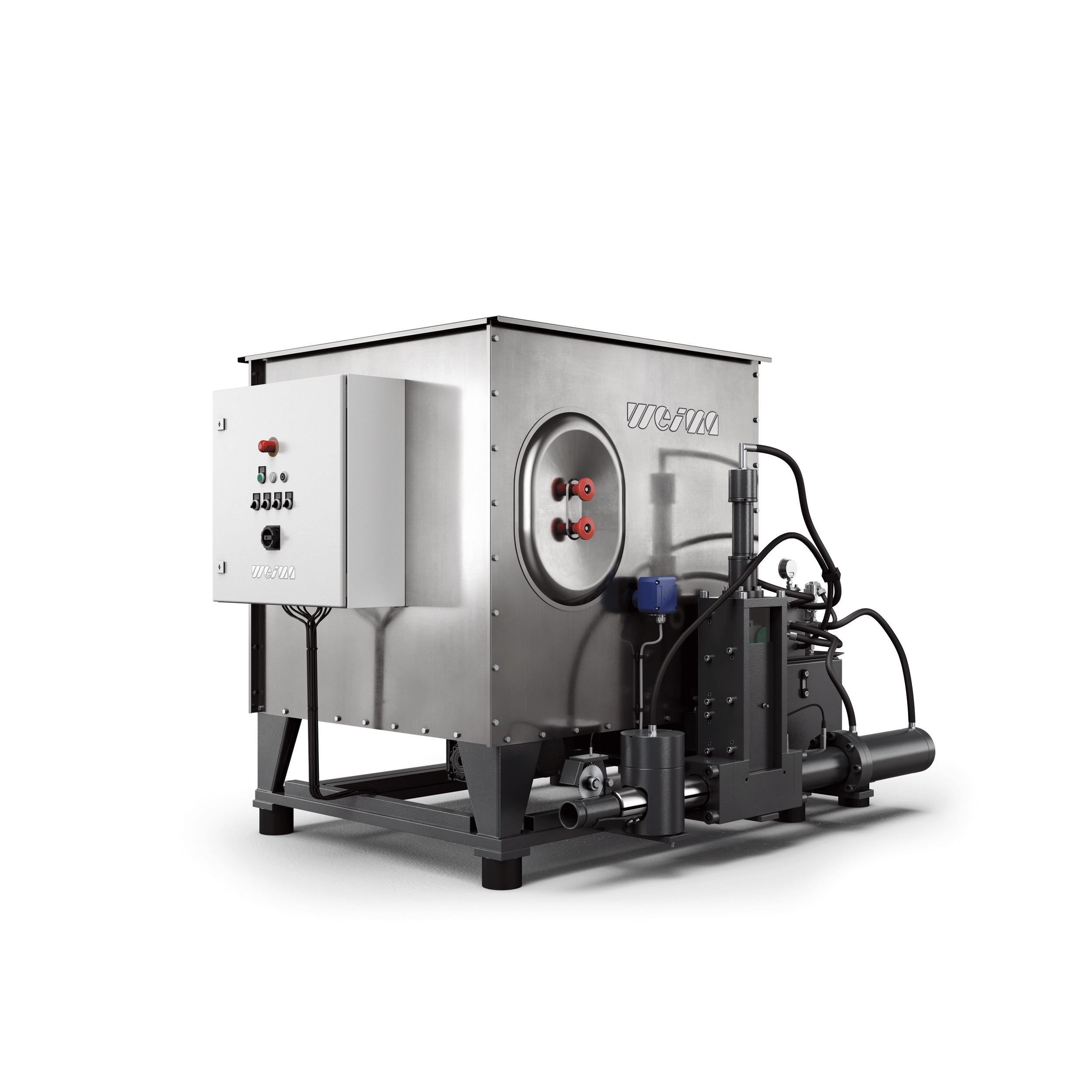WEIMA C 140 briquette press