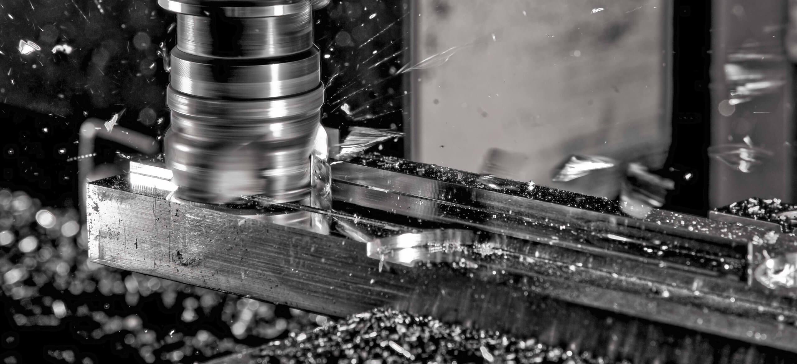 CNC milling swarf