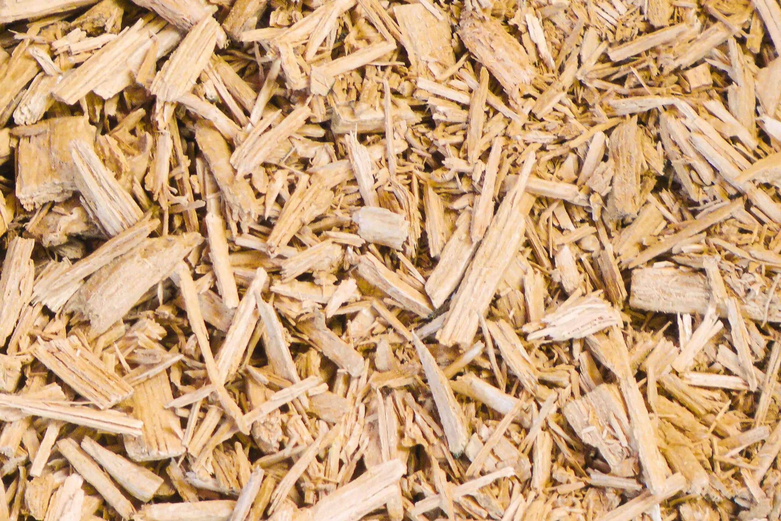 Solid wood chips