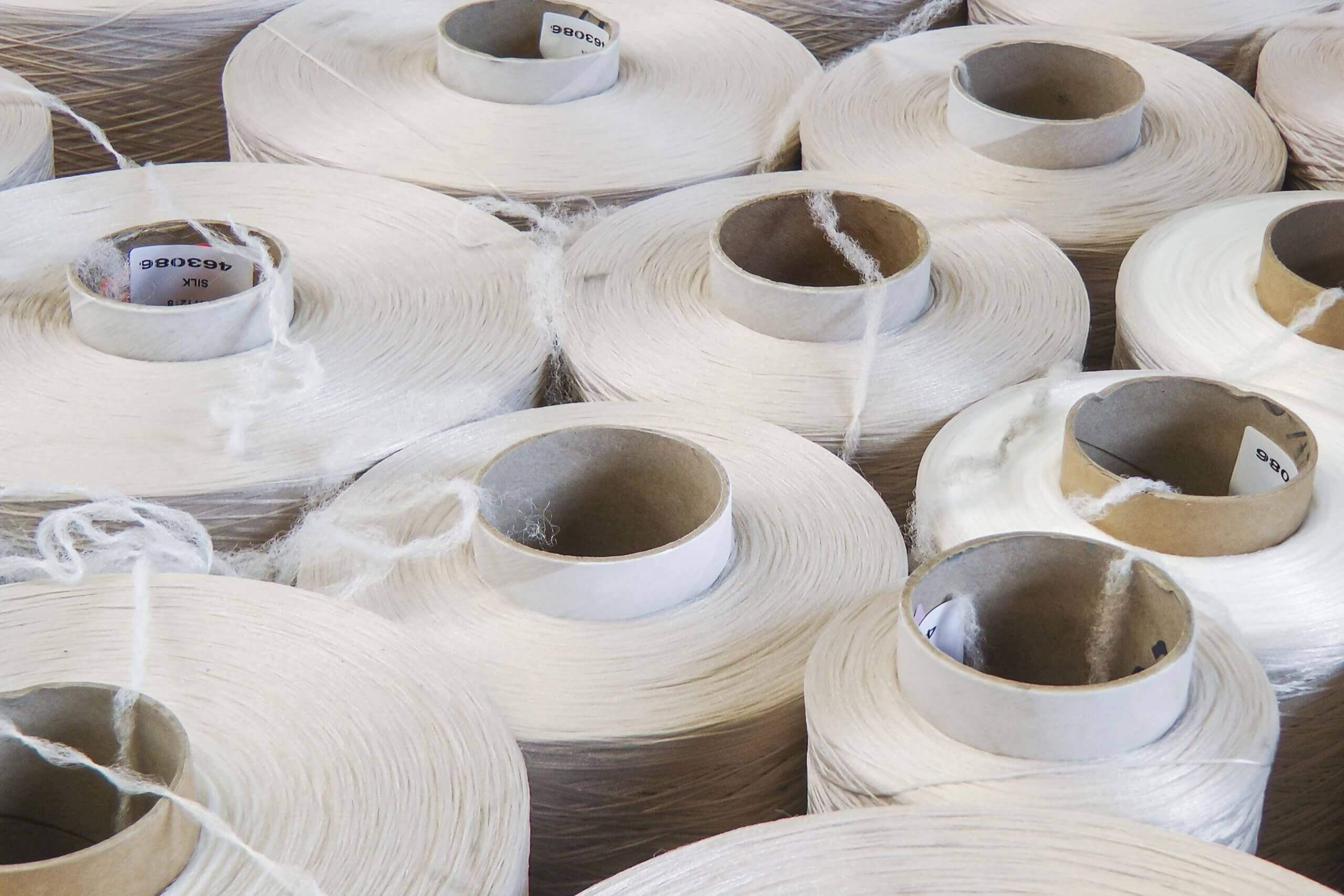 Polyamide fiber can be recycled on rolls