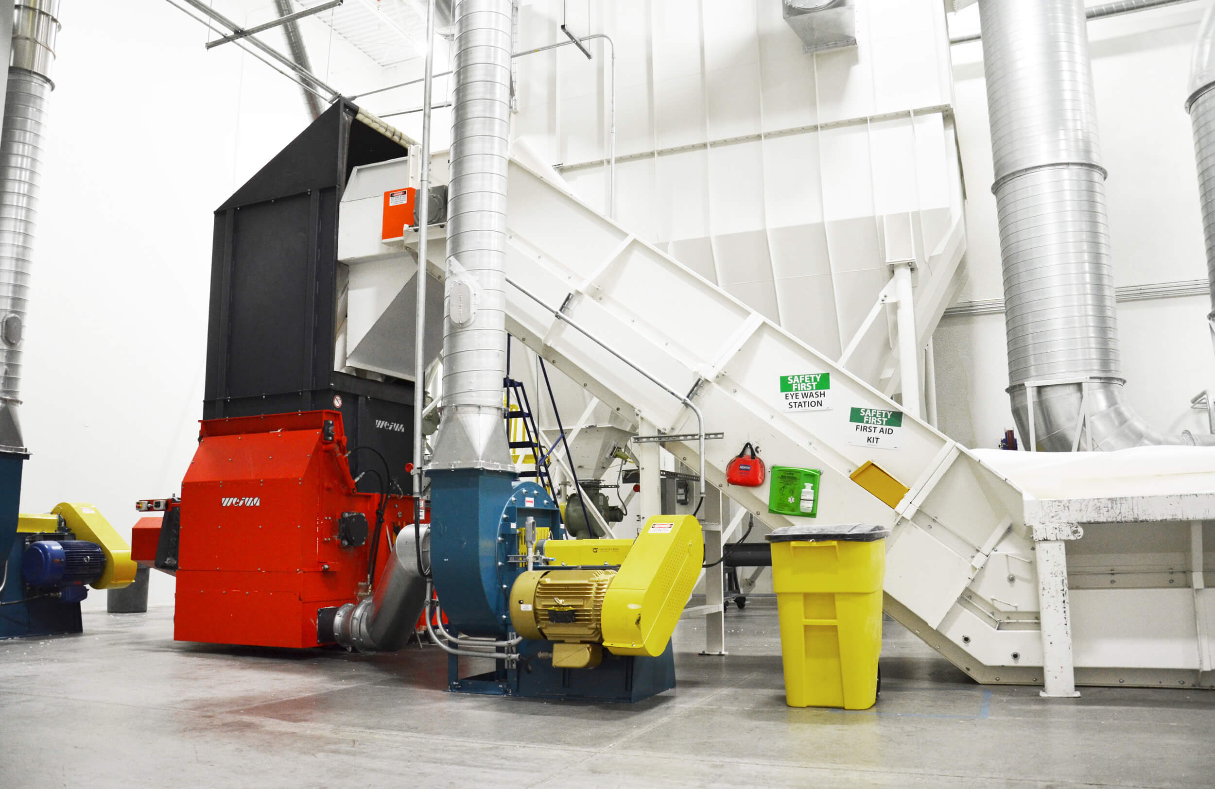 Inhouse-Recycling von Papierabfällen mit einem WEIMA WLK 13 Shredder