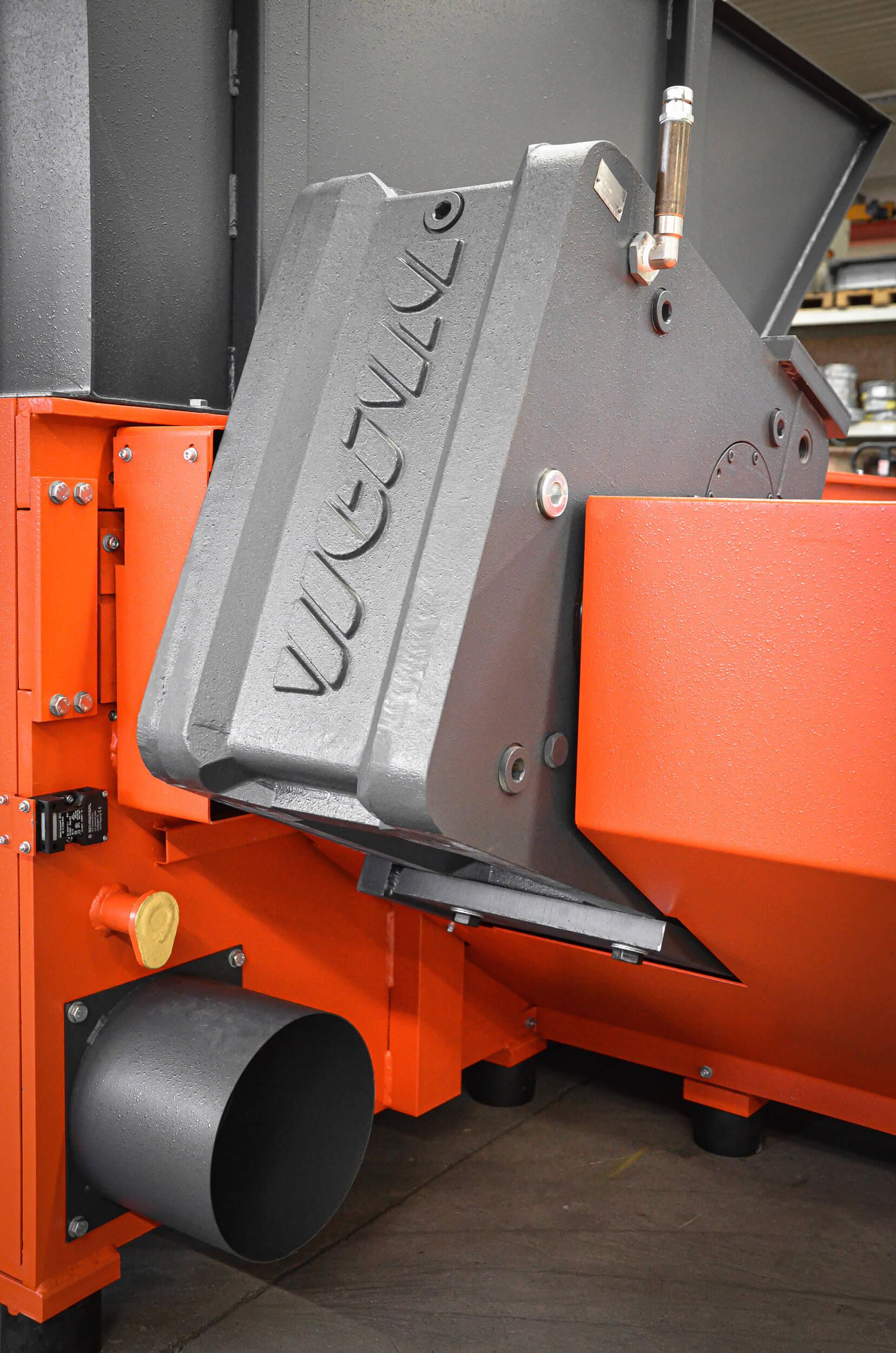 WEIMA WAP gears for electromechanical drive of WEIMA shredders