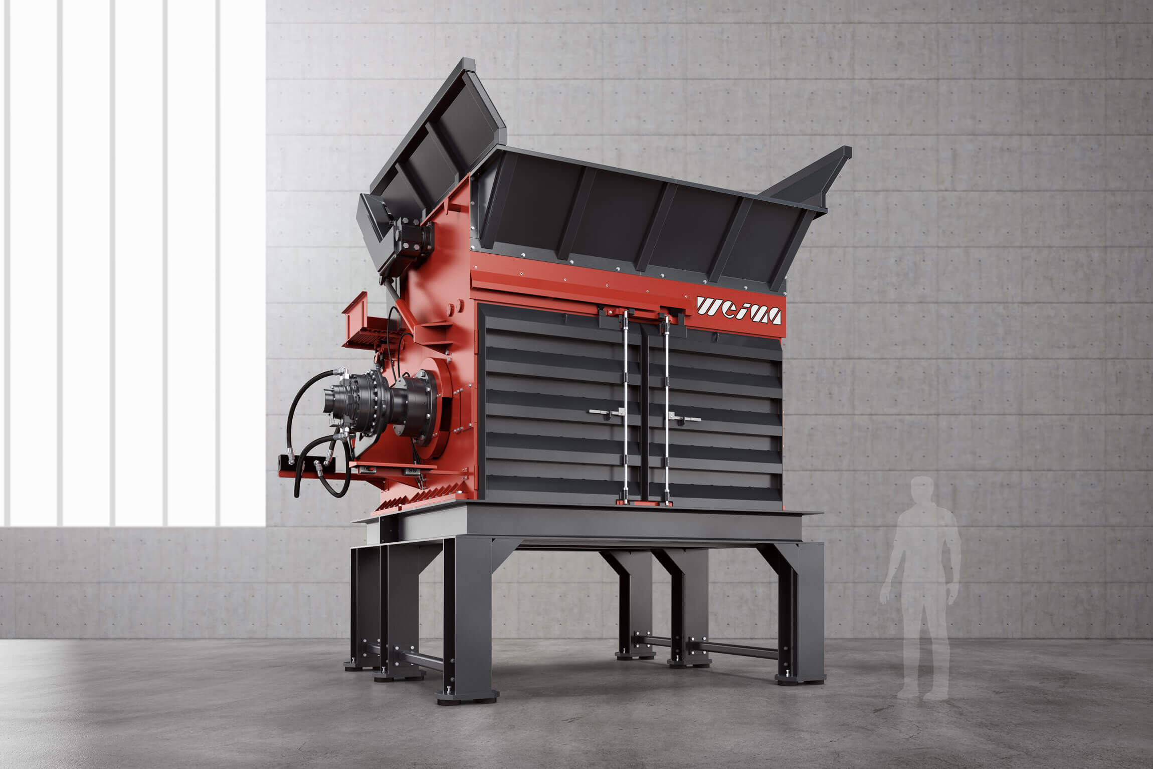 WEIMA PreCut Shredder