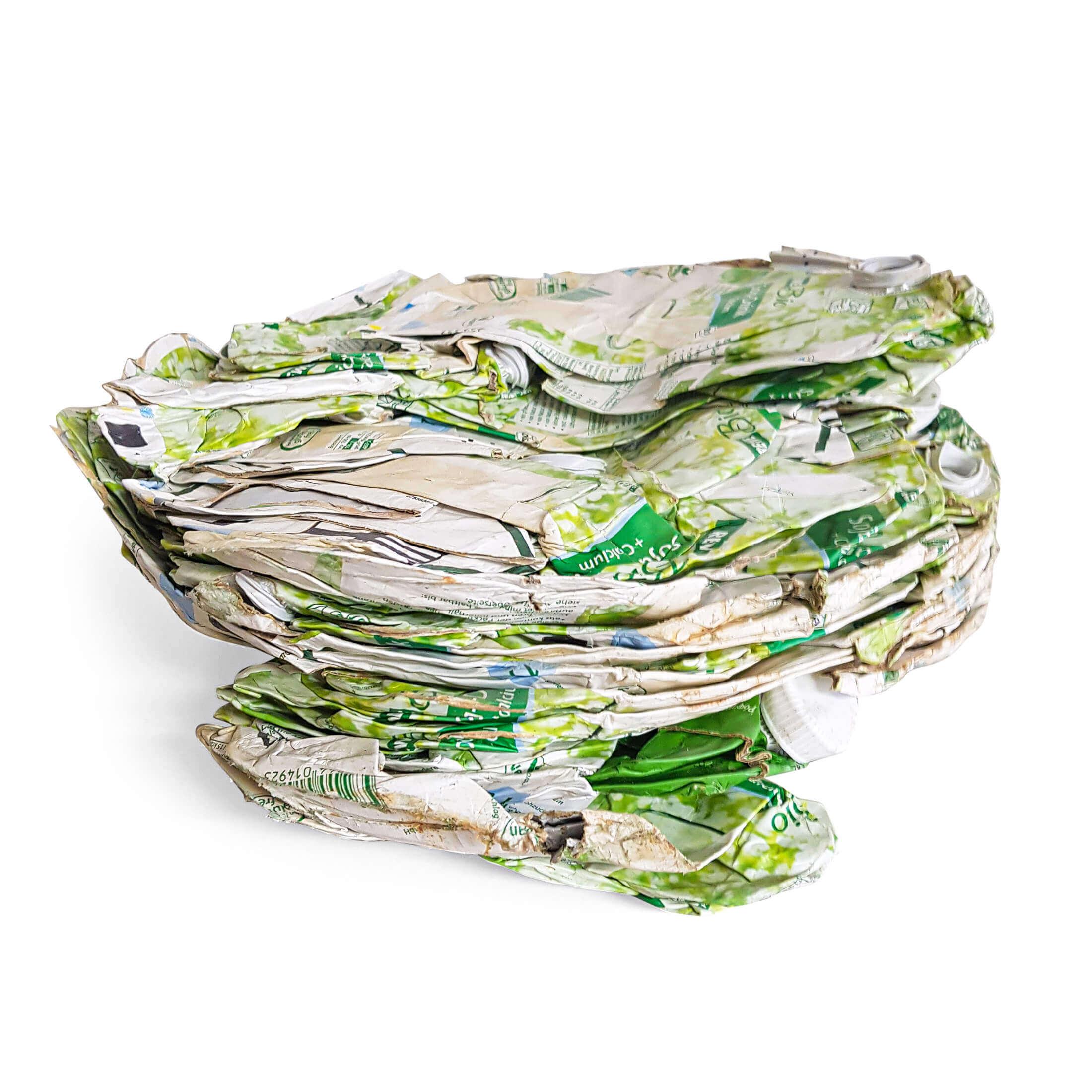 Entwässerte Biomilch Verpackung