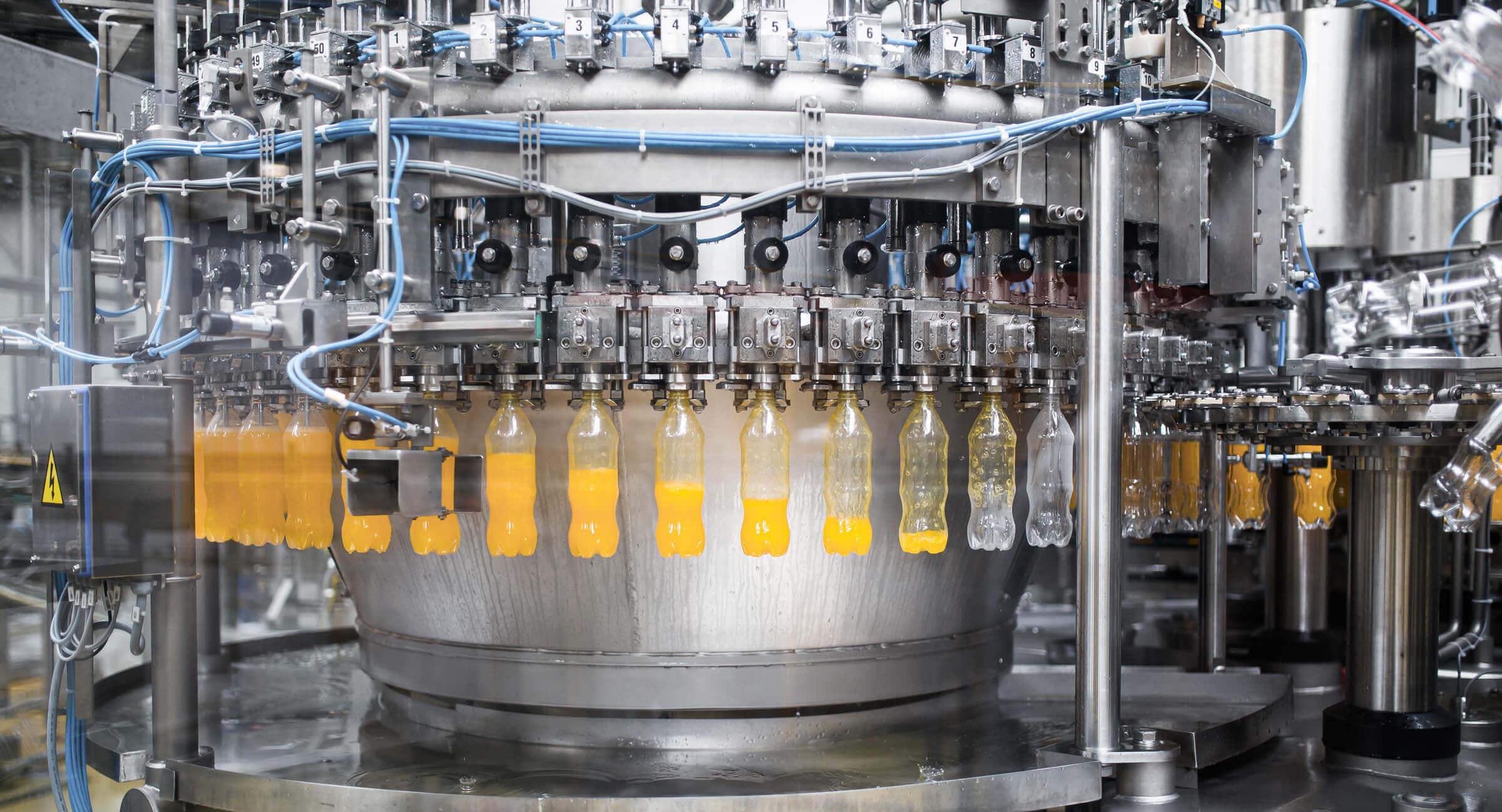 PET Flaschen Abfüllung Produktion