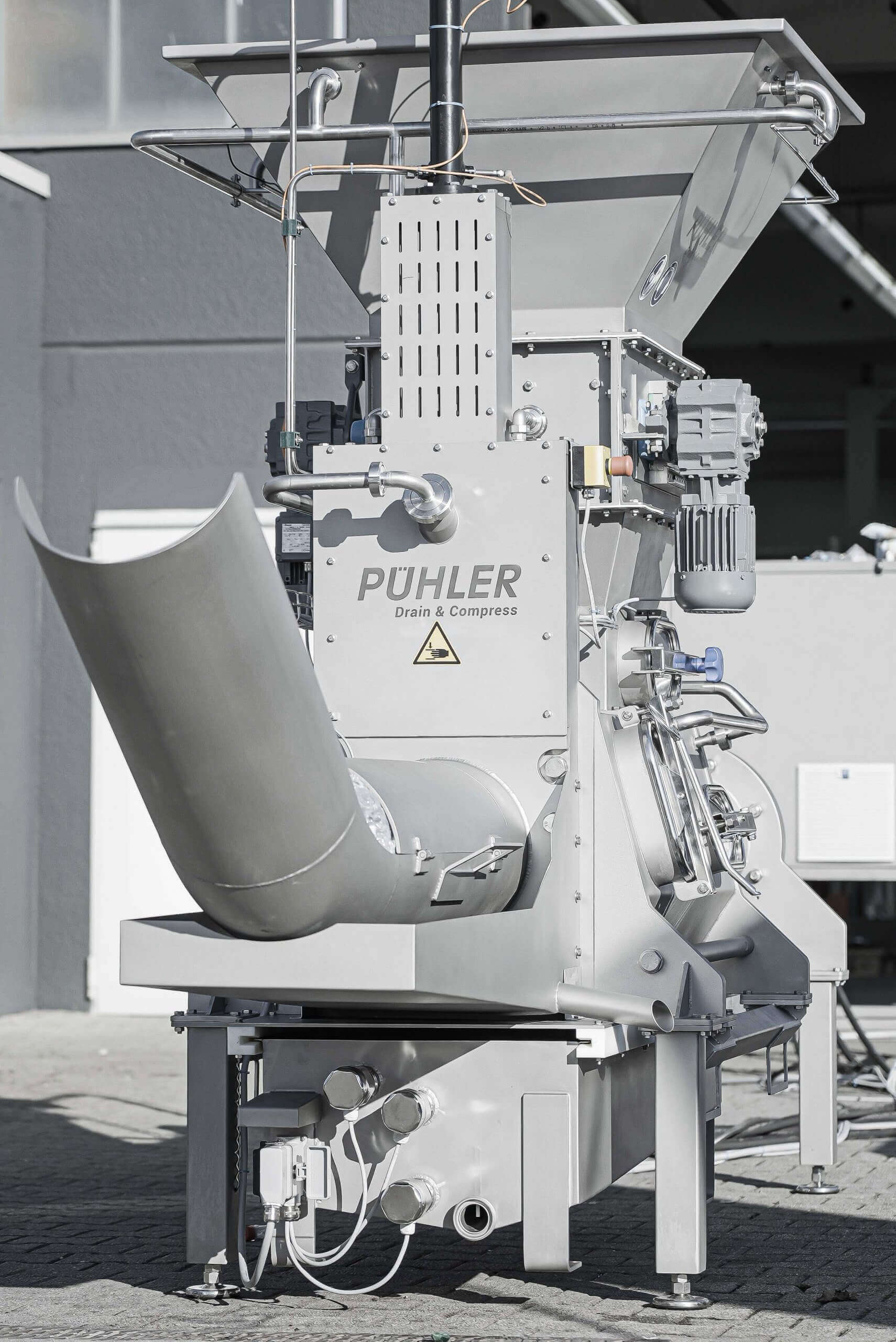 PUEHLER G.300 drainage press for rework applications