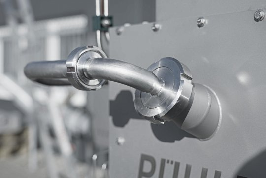 Hygienegerechte Maschinengestaltung aus Edelstahl