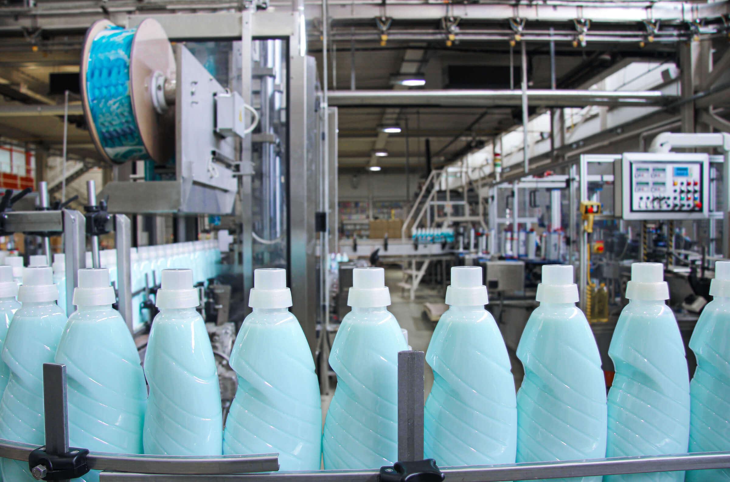 Waschmittel Behälter Abfüllung
