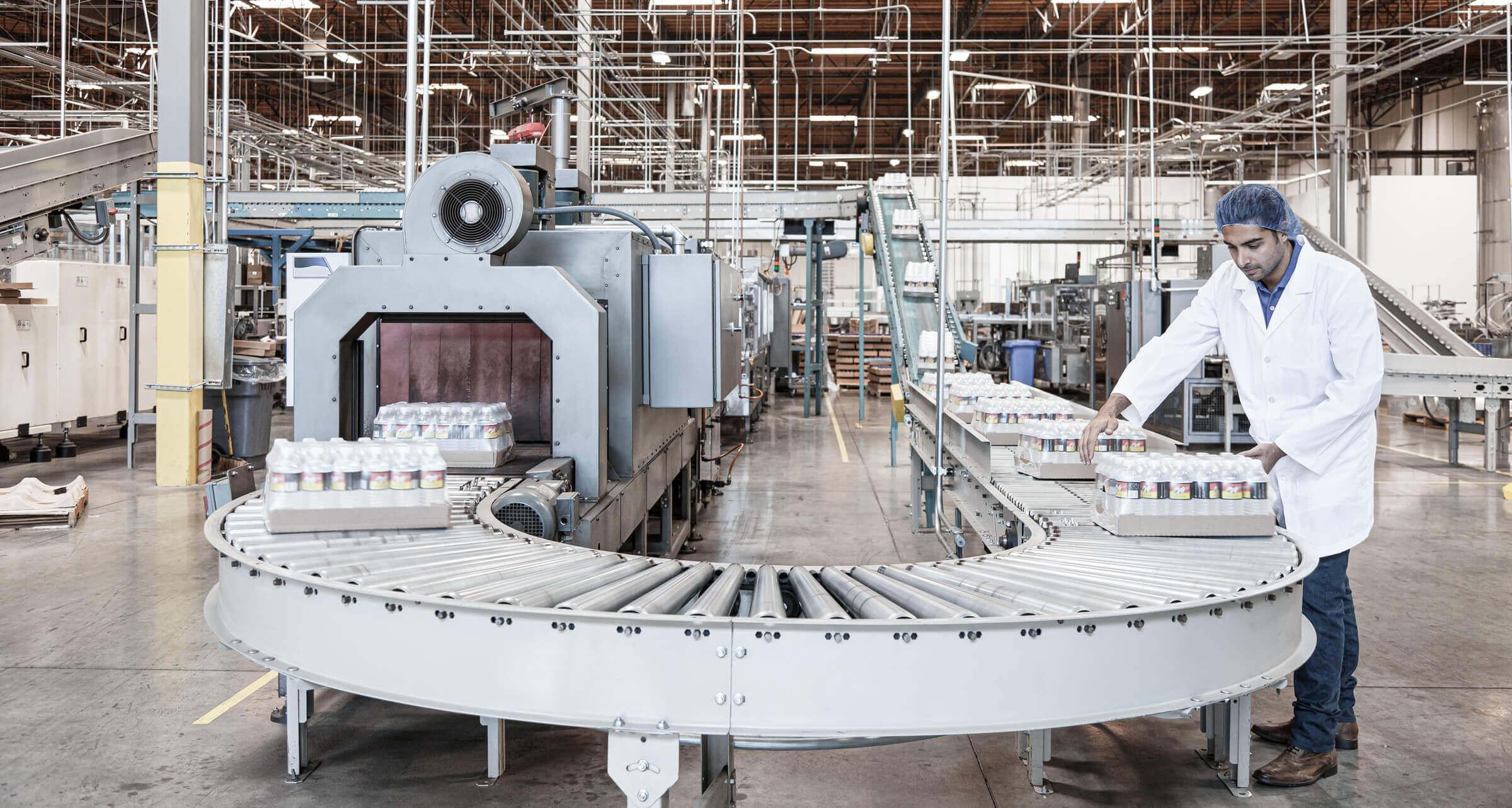 Wasserflaschen Produktion Versand