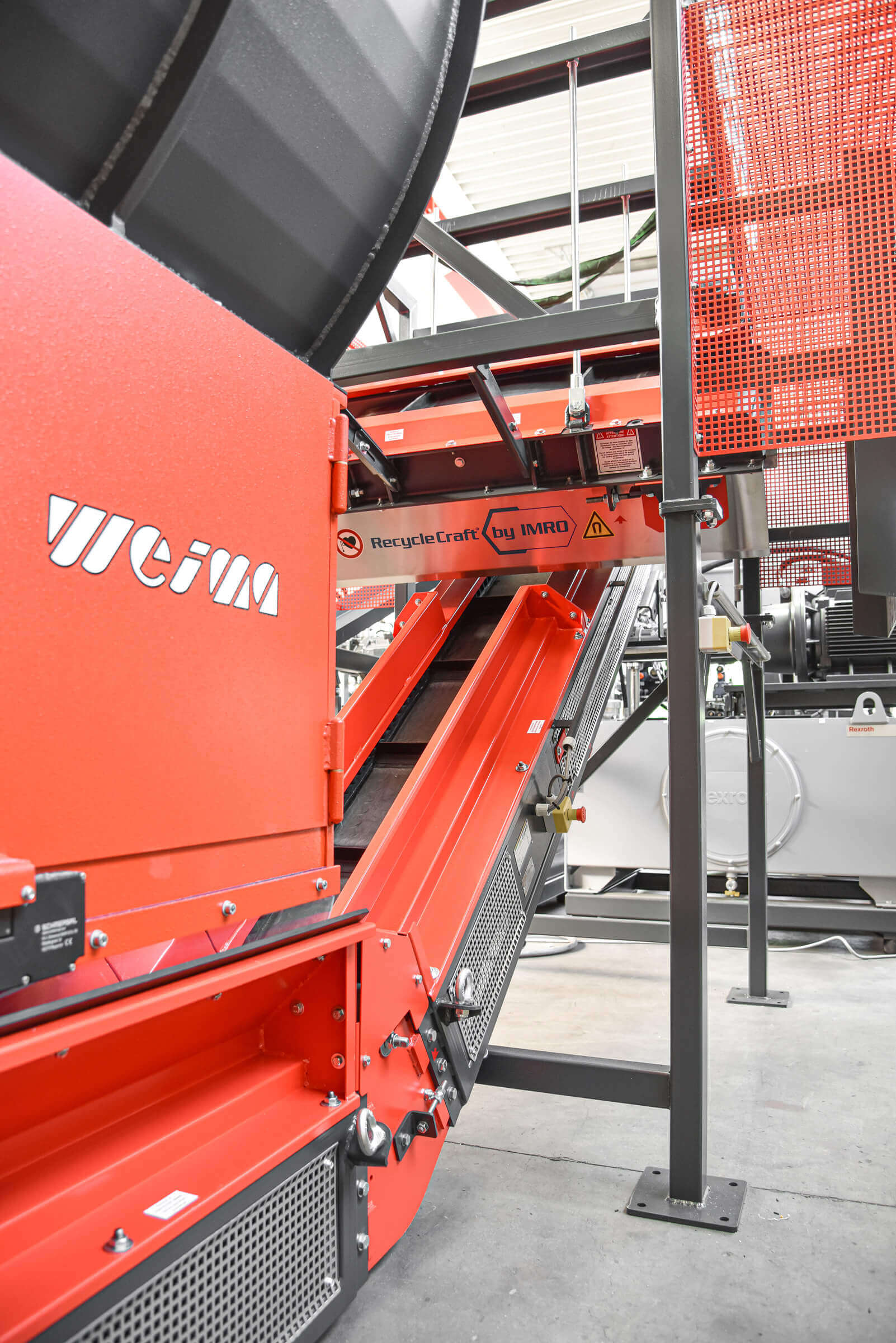 WEIMA conveyor technology and magnet