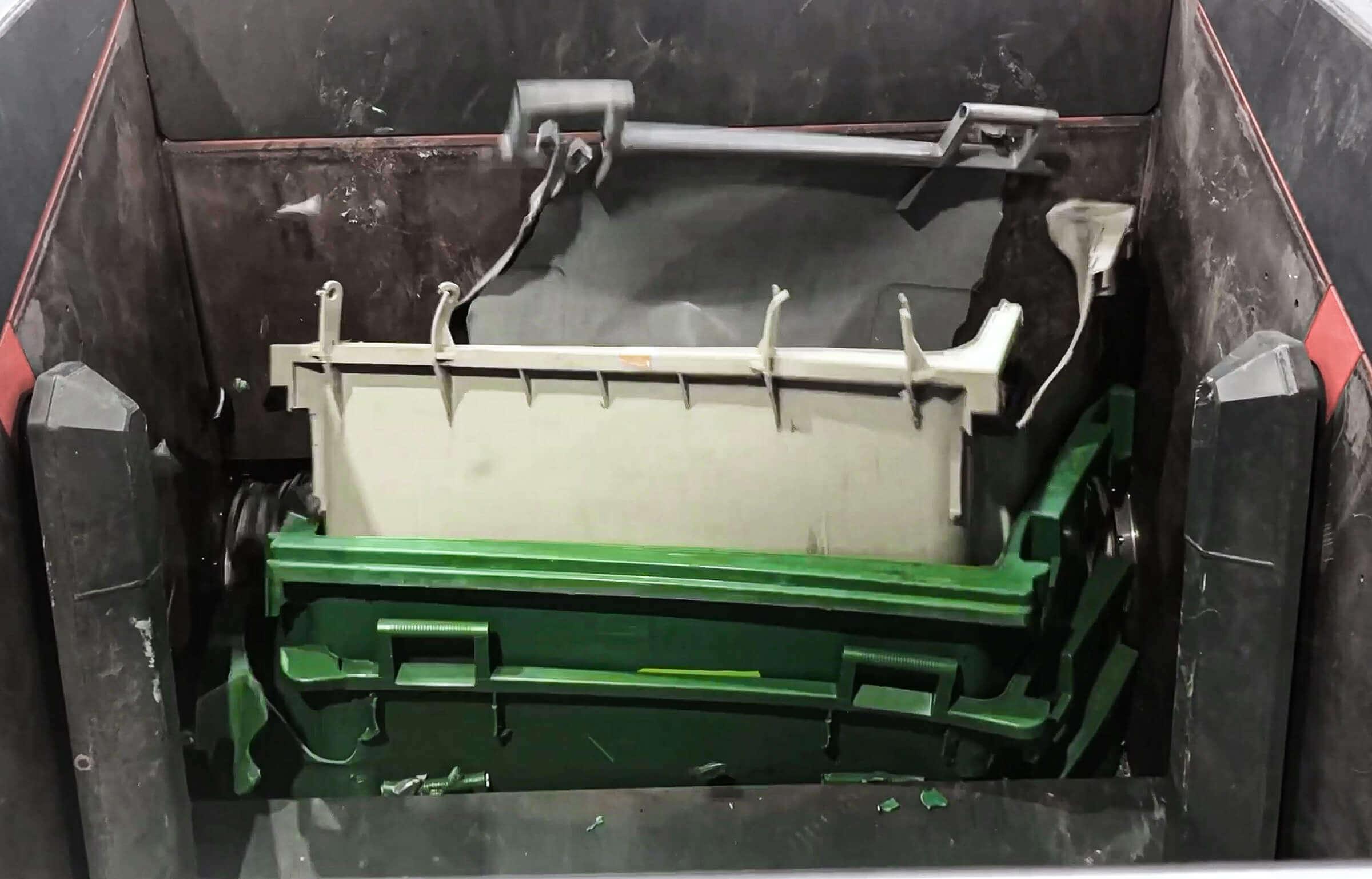 Hartkunststoff Abfallbehälter Shredder