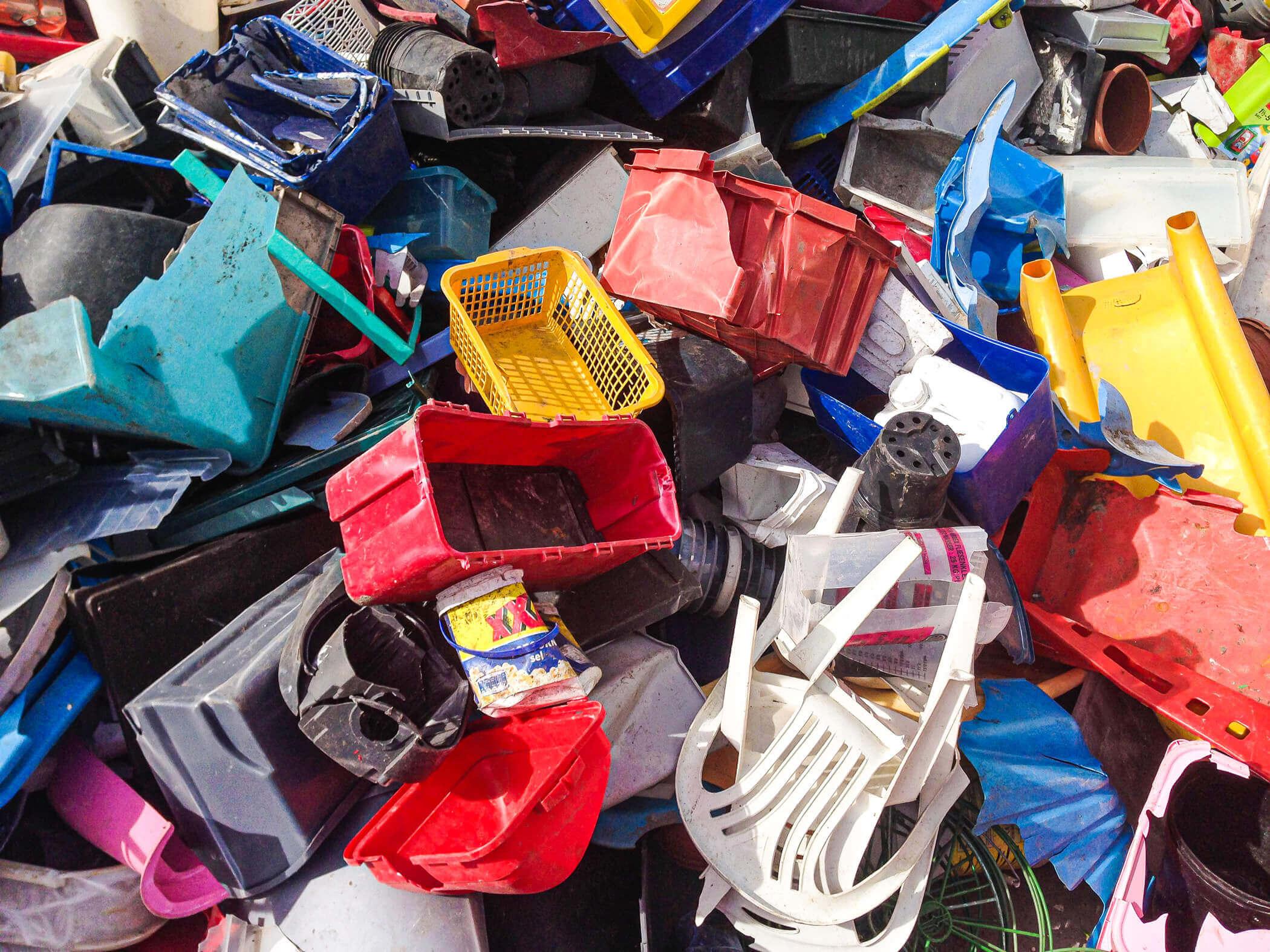 diverse Rigid Plastics gesammelt
