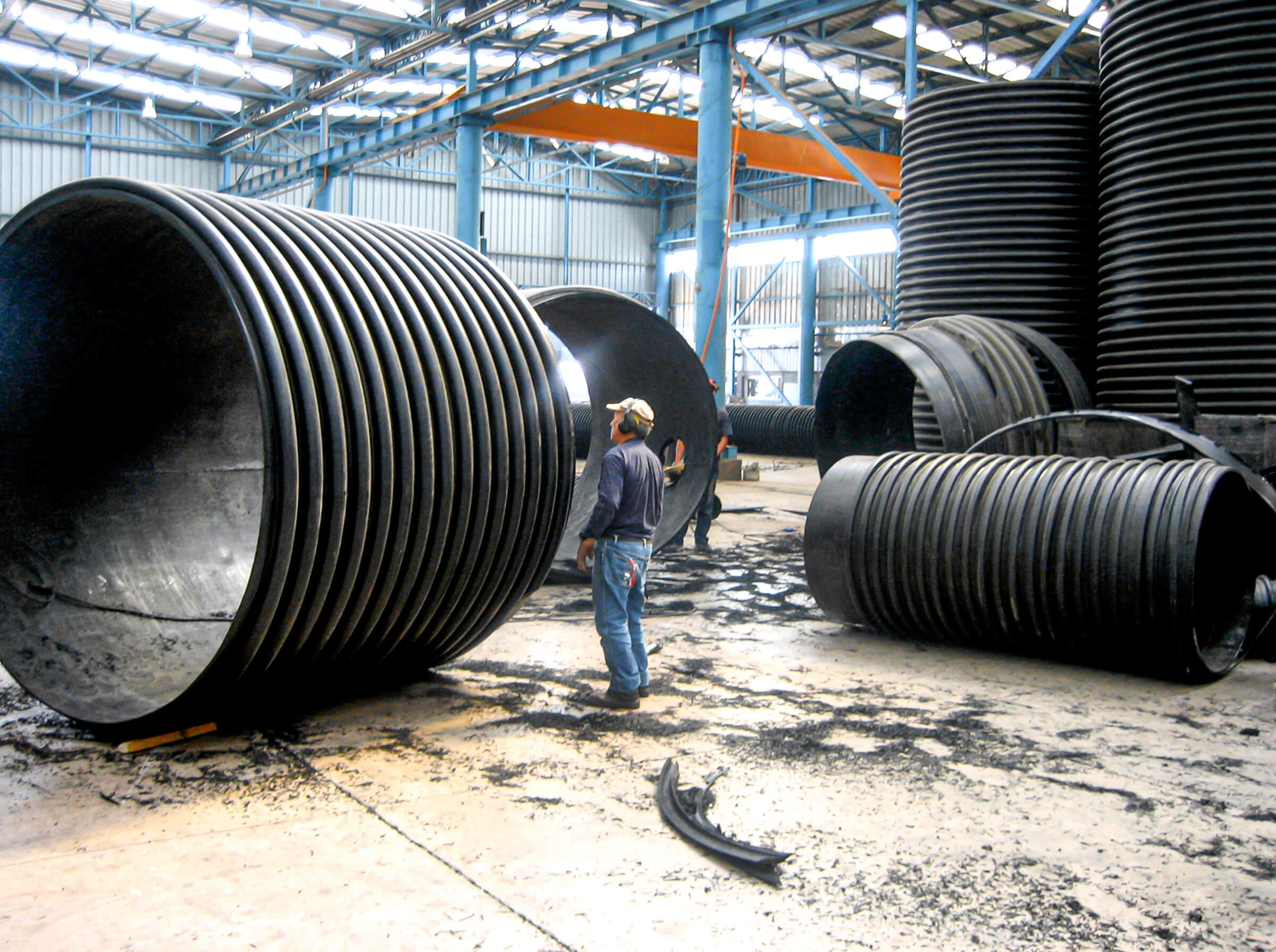 HDPE pipes for sewage systems