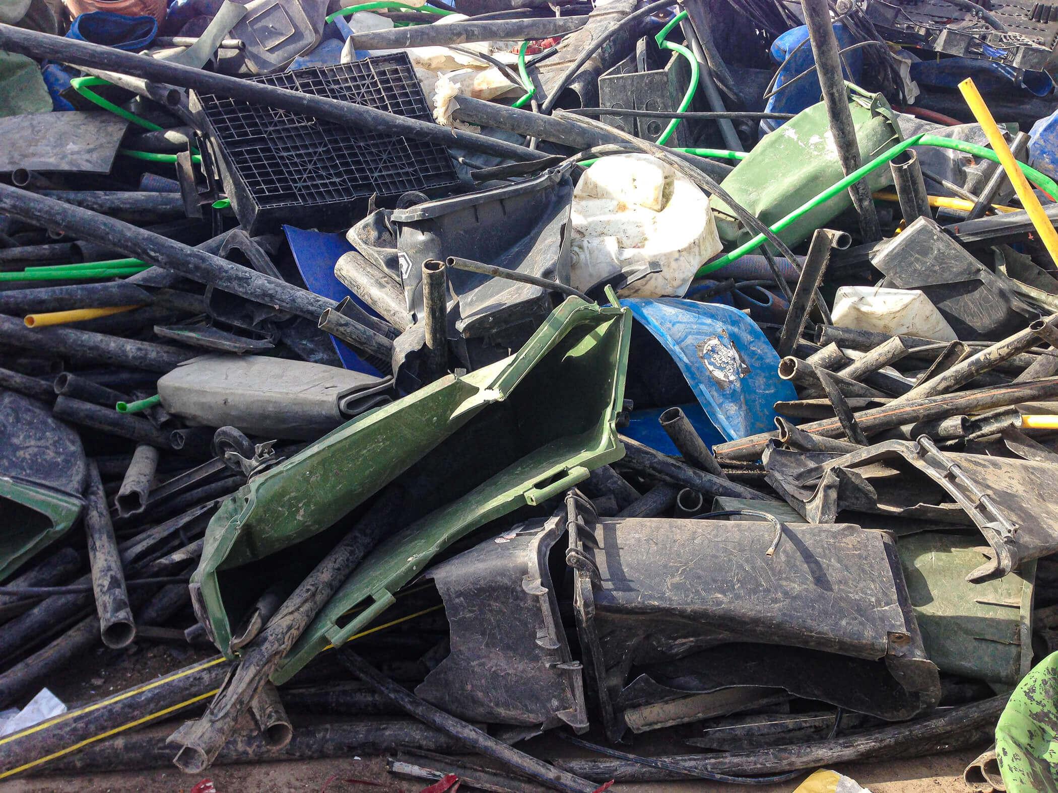 Sammelstelle für Rigid Plastics