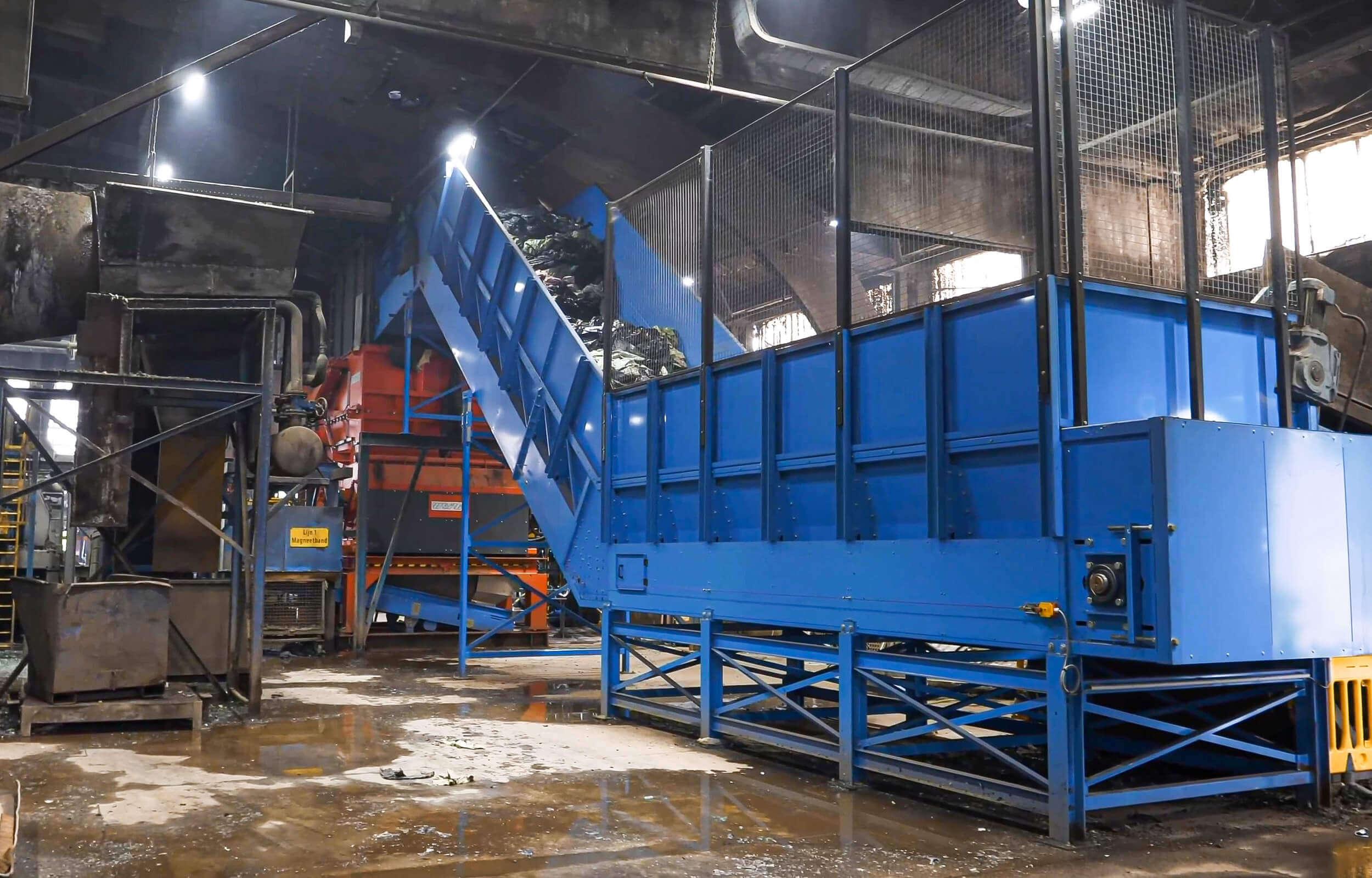 Folienrecycling mit einer Anlage in den Niederlanden