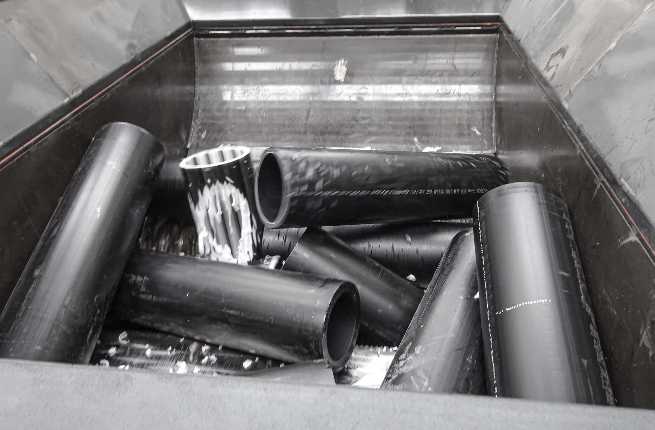 Recycling of disposed HDPE pipes