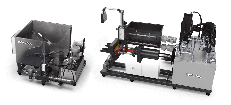 WEIMA briquette press matrix and clamp technology
