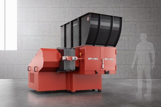 WEIMA WLK 1000 single-shaft shredder for plastic waste